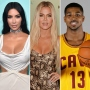 Kim Gives Khloe a Basketball Following Tristan Engagement Rumors