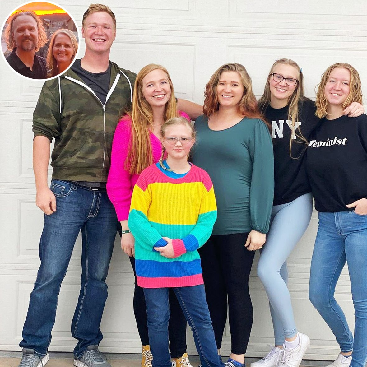 Sister Wives Star Christine Brown Shares Rare Photo With All 6 Her Kody Kids