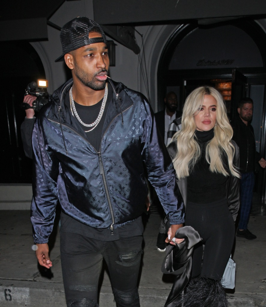 Tristan Thompson Shows Khloe Kardashian's Sexy New Photo Some Love Following Outing With Mystery Woman
