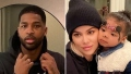 Tristan Thompson and Khloe Kardashian Get Pizza With True's Name