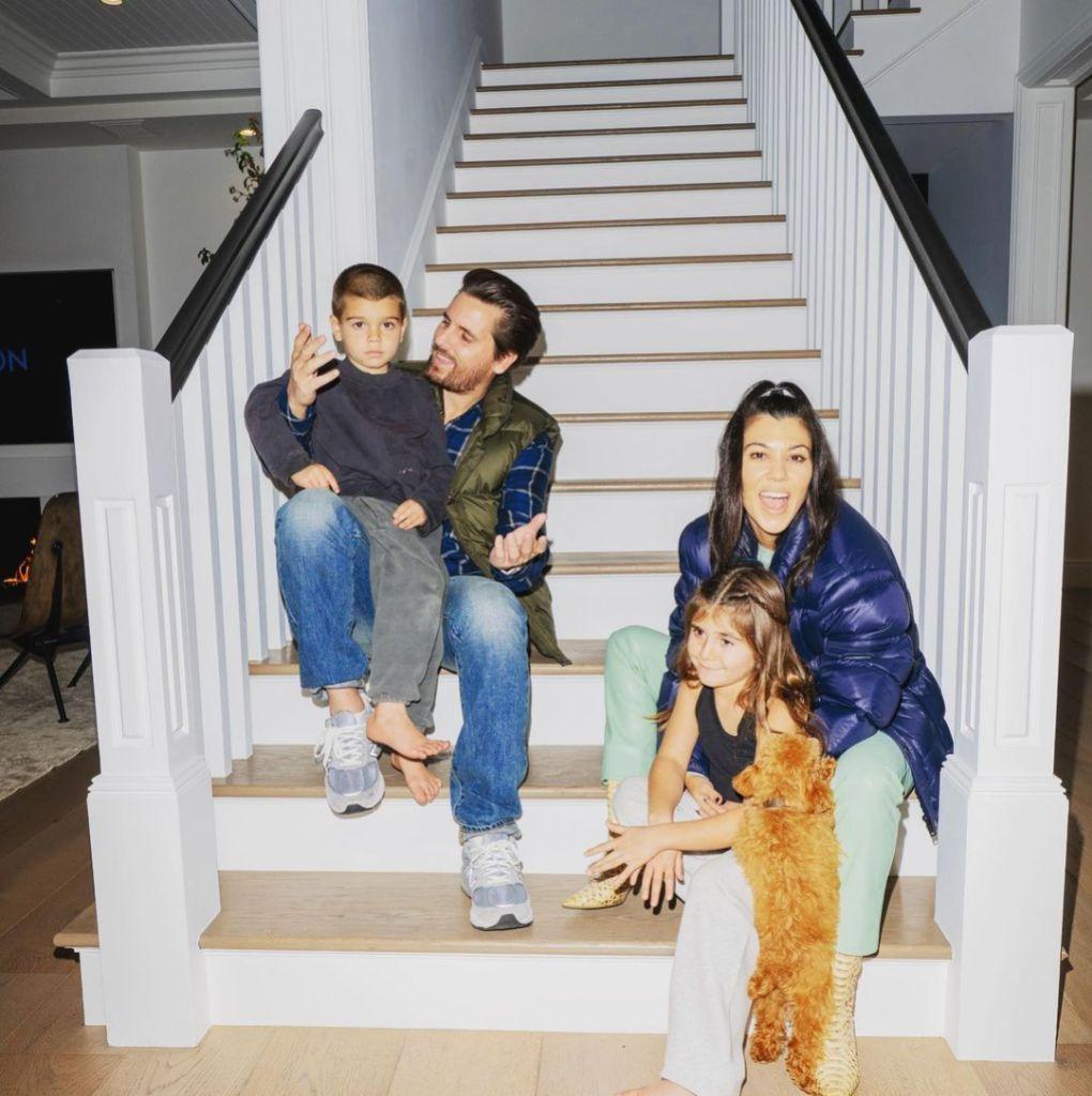 Scott Disick Says He 'Loves' Kourtney Kardashian and Kids