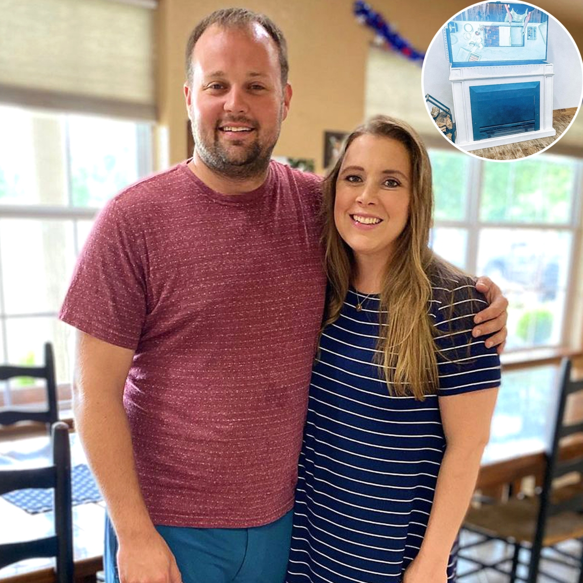 Anna Duggar Proudly Shows Off Home Renovations Done by Husband Josh: From 'a Fireplace to a TV Stand!'