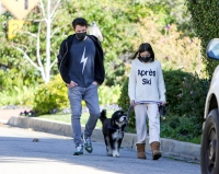 Ben Affleck and Daughter Seraphina Share Sweet Hug During Their Morning Walk in L.A.