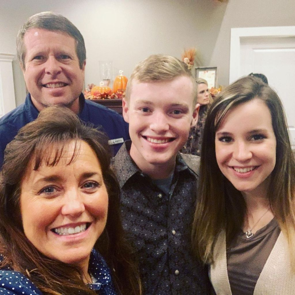 Justin Duggar Photos With Parents and Claire Spivey