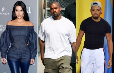 Kim Kardashian Shades Kanye West Amid Chance the Rapper Drama