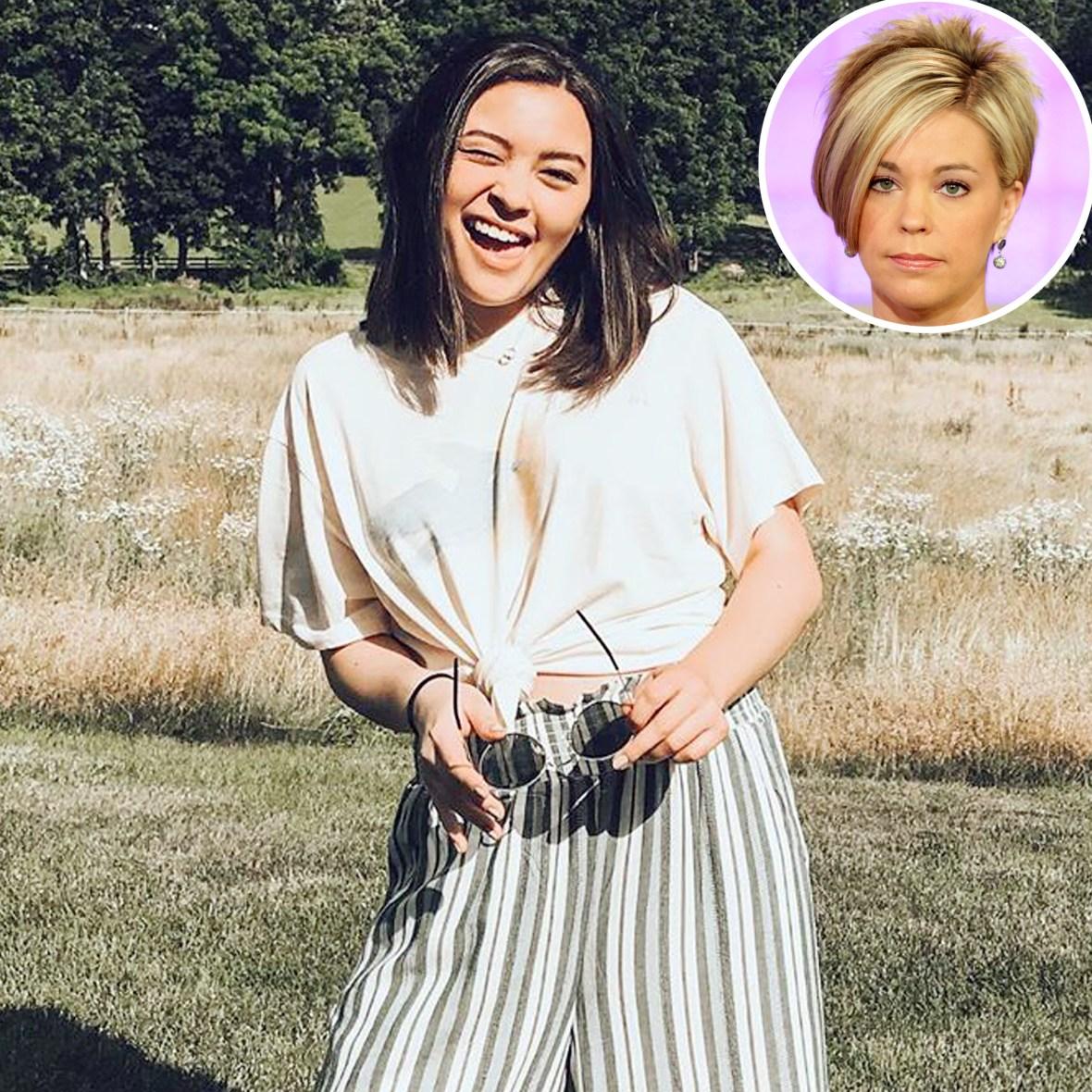 Mady Gosselin Pokes Fun Mom Kate Signature Haircut Reality Show Jon Kate Plus 8