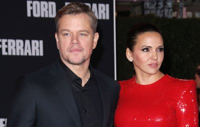 Matt Damon and Wife Luciana Shift In Marriage Tension