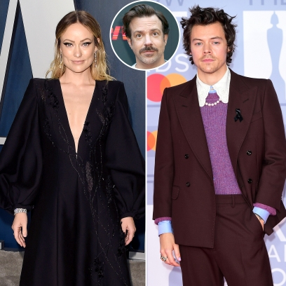 Olivia Wilde Holds Hands With Harry Styles After Jason Sudeikis Split
