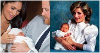 Prince Harry and Prince Archie Twinning Baby Pics 1