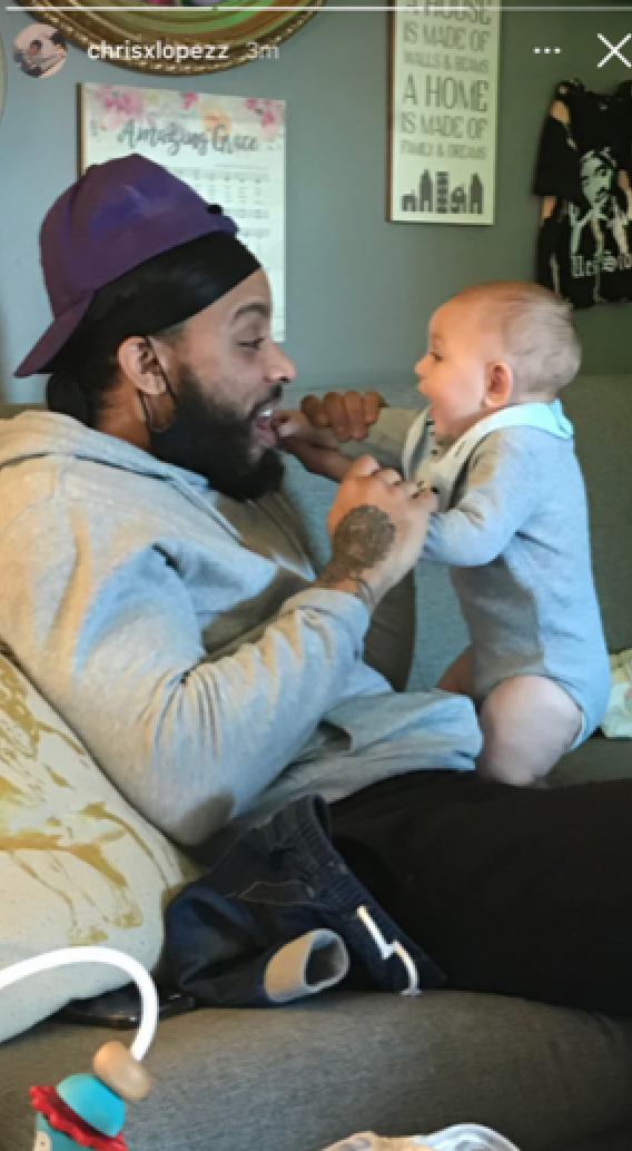Chris Lopez Smiles With Sons Lux and Creed in New Photos Amid Coparenting Conflict With Kailyn Lowry