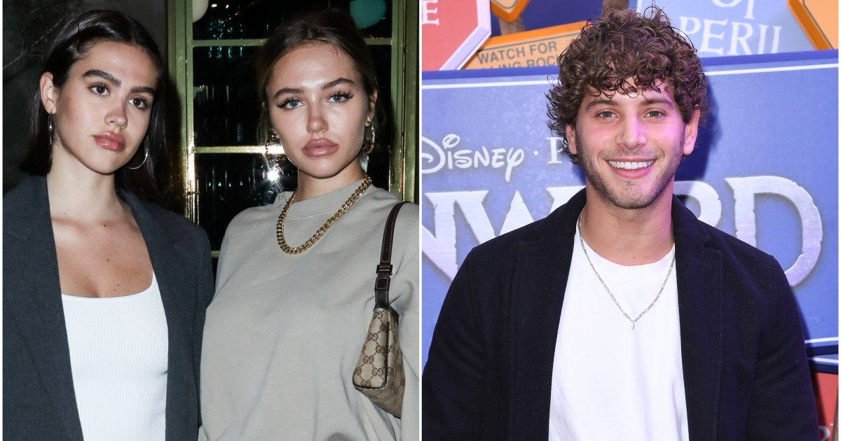 Amelia Hamlin's Sister Delilah in Tears During Fight With BF Eyal Booker