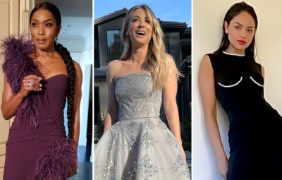 The 2021 Golden Globes Red Carpet Was Filled With Celebrities and Amazing Fashion — Photos