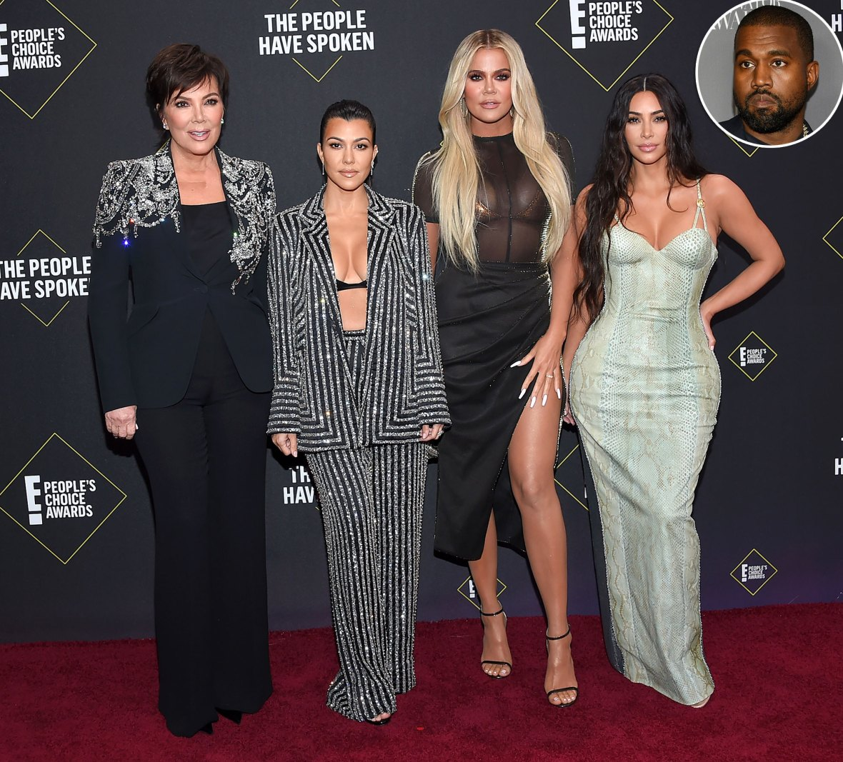 Kardashians Committed to Keeping Kanye West Part of Family Amid Divorce