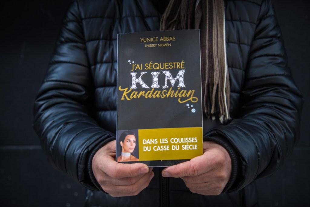Kim Kardashian Robber Book