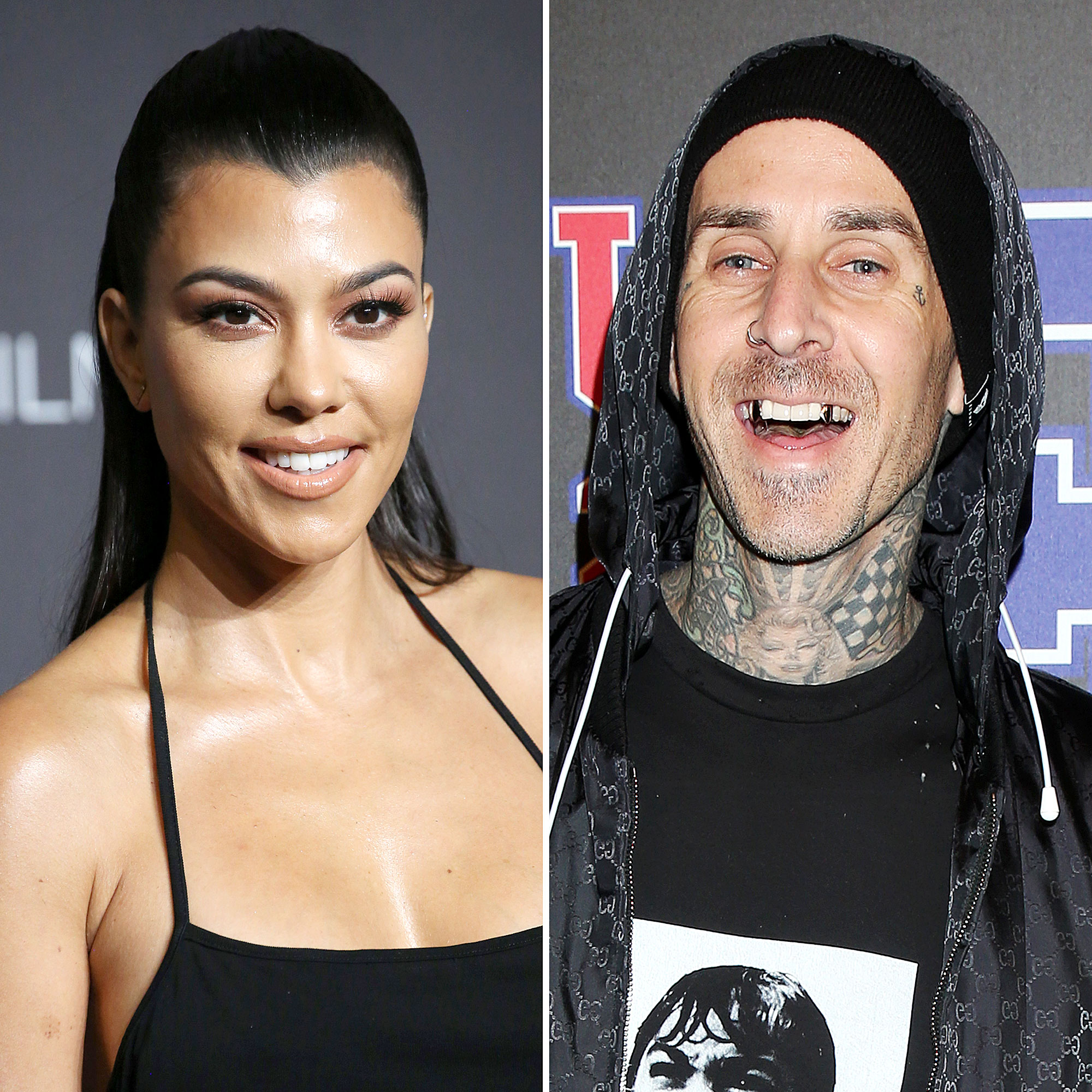 Kourtney Kardashian and Travis Barker Hold Hands on Date ...