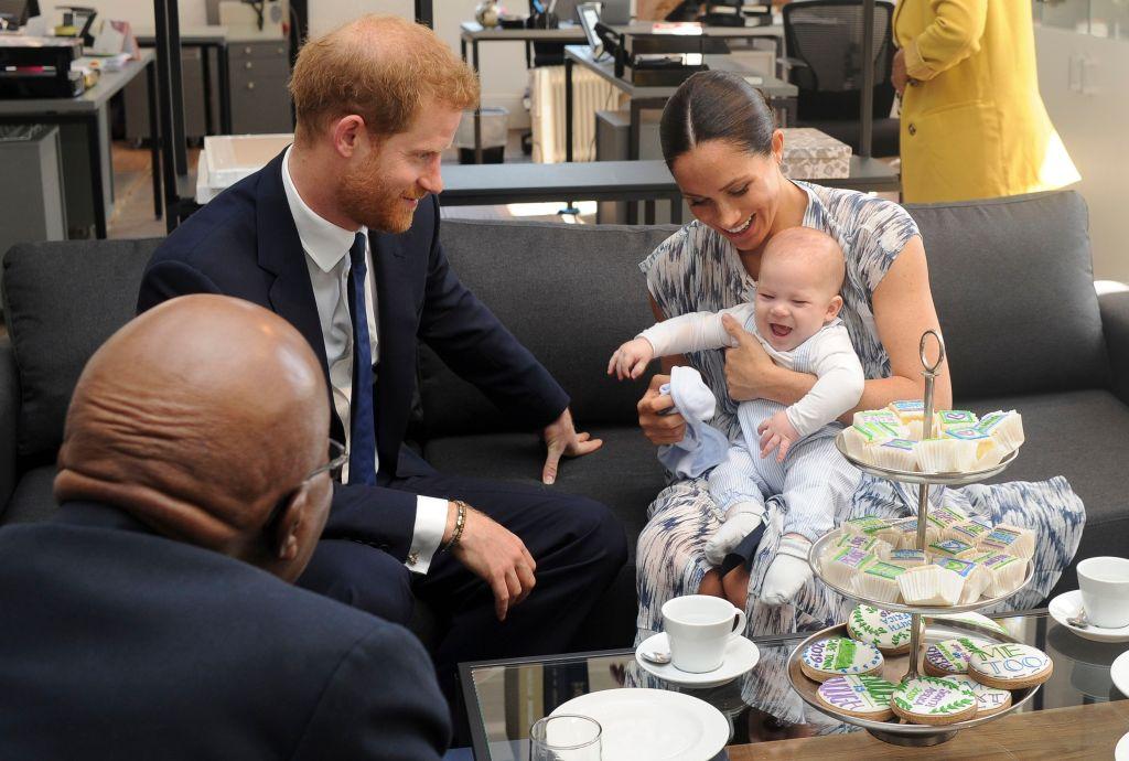 Prince Harry Meghan Markle Archie Photos