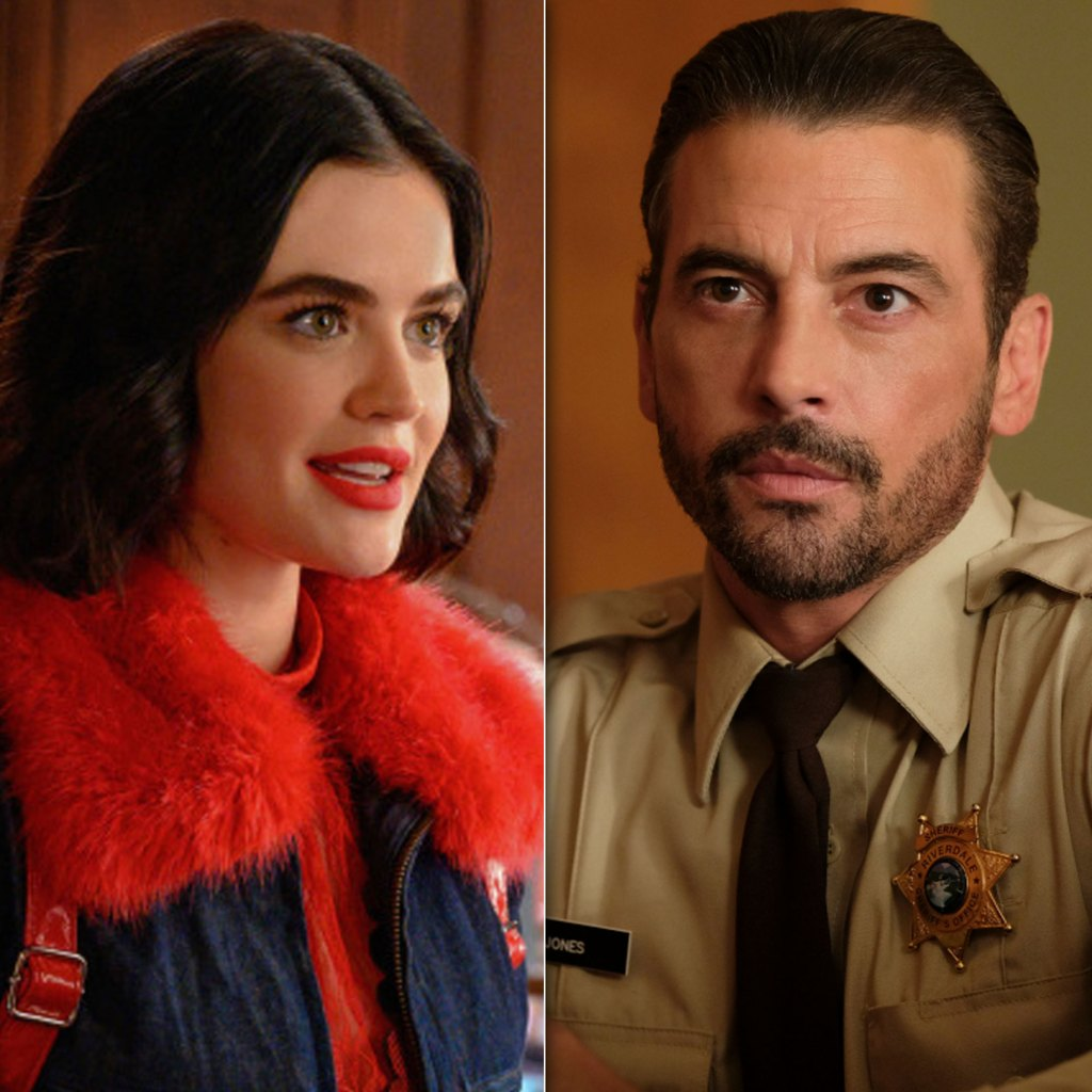 New Couple Alert? Lucy Hale Was Photographed Sharing Kiss With 'Riverdale' Alum Skeet Ulrich