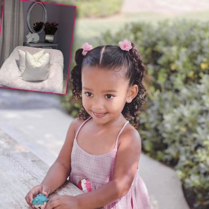 Chicago West Gets the Princess Treatment! See Photos of Kim Kardashian's Daughter's Bedroom
