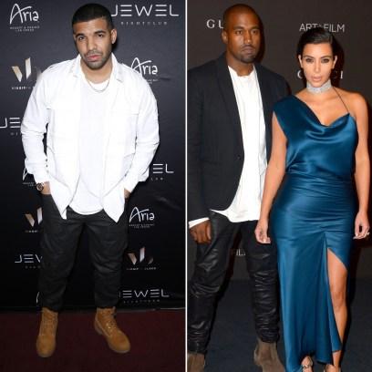 Drake Fuels Kim Kardashian Cheating Rumors Amid Kanye West Feud