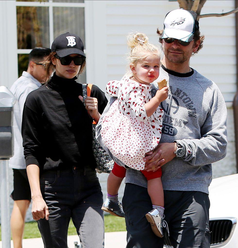 Irina Shayk Bradley Cooper Daughter Photos