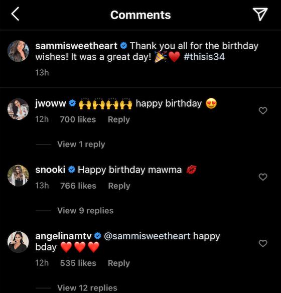 Jersey Shore' Cast Shows Sammi 'Sweetheart' Birthday Love