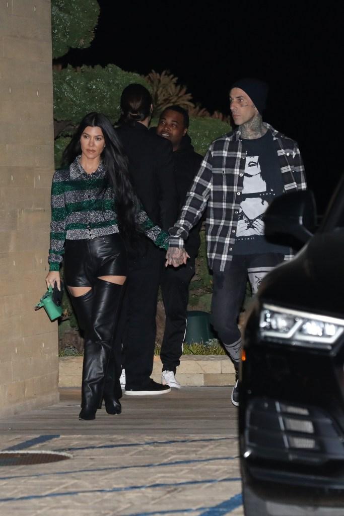 Kourtney Kardashian Feels 'Zero Pressure' to Marry Boyfriend Travis Barker: 'She's Just Happy'