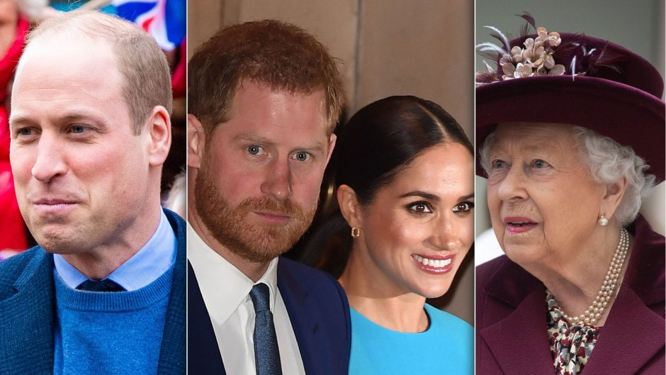 Queen Elizabeth II and Prince William Are Reportedly 'Furious' Over Harry and Meghan's Tell-All