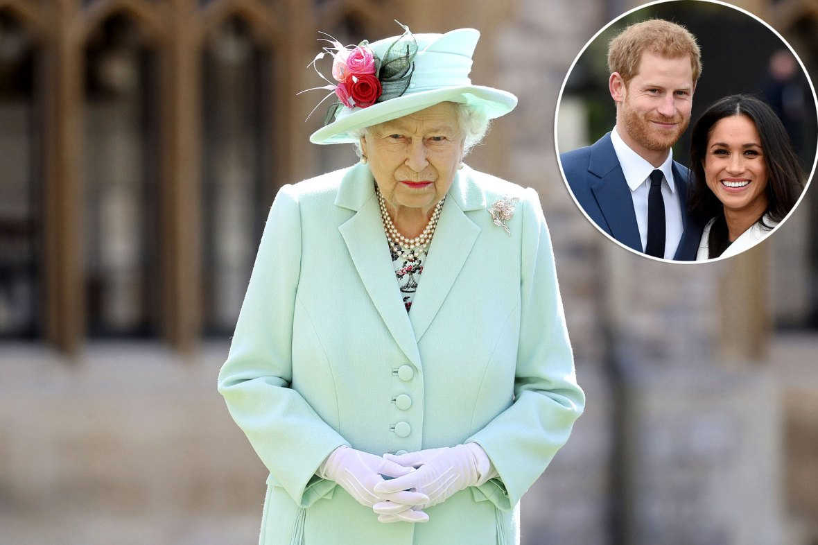 Queen Elizabeth Responds to Prince Harry and Meghan Markle's Tell-All Interview