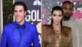 Sacha Baron Cohen Pokes Fun at Kim and Kanye West's Divorce