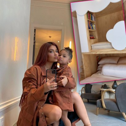 Stormi Webster's Bedroom is Full of Clouds! Photos of Kylie Jenner's Decor