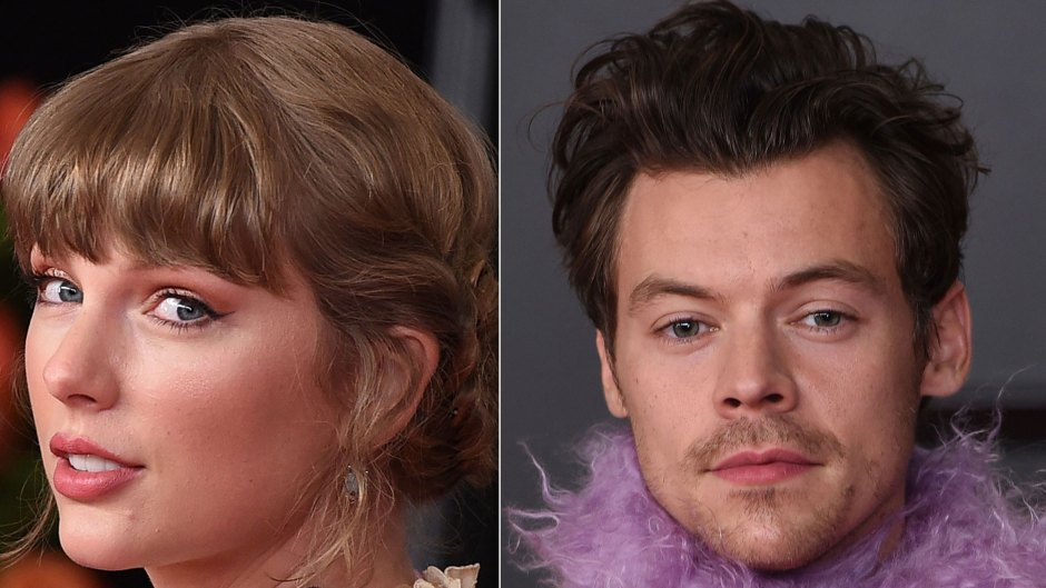 Taylor Swift Reunites With Ex Harry Styles in 2021 Grammys Behind-the-Scenes Video