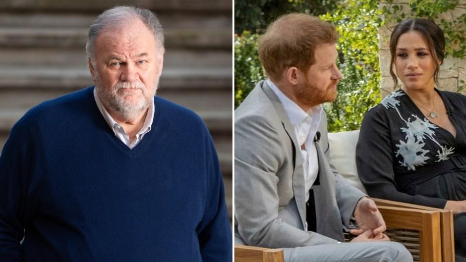 Thomas Markle Slams 'Snotty' Prince Harry Amid Meghan Markle Feud
