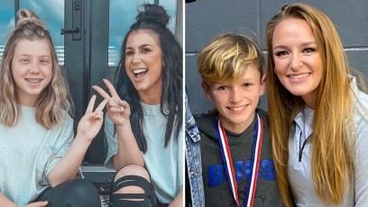 teen mom kids then and now chelsea aubree maci bentley
