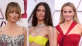 2021 Oscars Red Carpet Margot Robbie Zendaya Reese Witherspoon