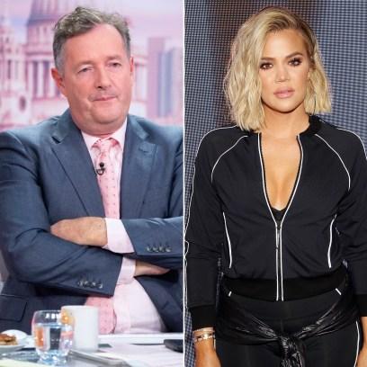 Piers Morgan Slams Kardashians Amid Khloe's Unedited Pic Drama