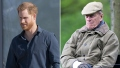 Prince Harry Back in the U.K. for Prince Philip's Funeral