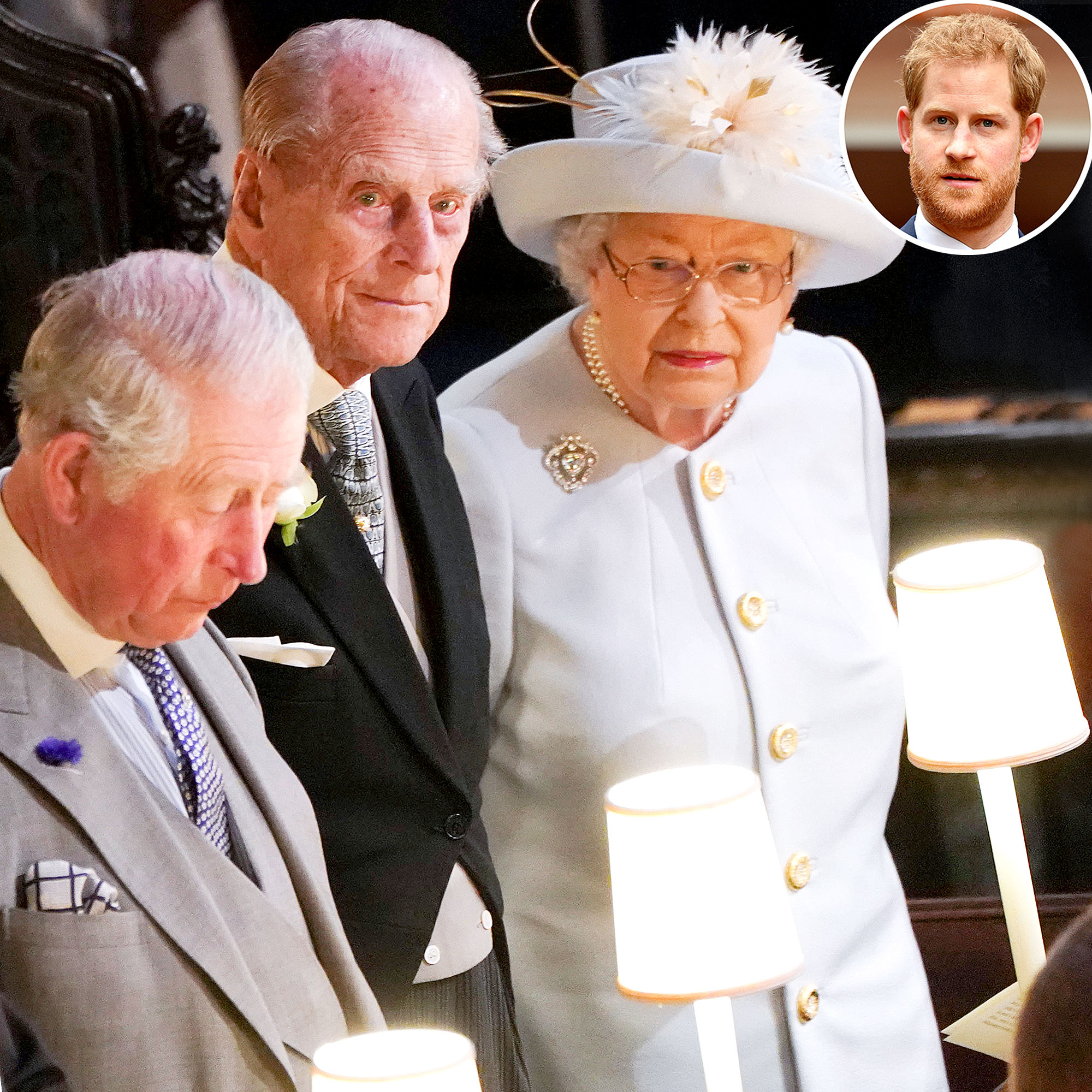 Prince Harry Reunites With Royal Family Prince Philips Funeral