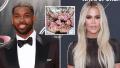 Tristan Thompson Sends Khloe Kardashian a Huge Bouquet of Flowers After Bikini Photo Scandal