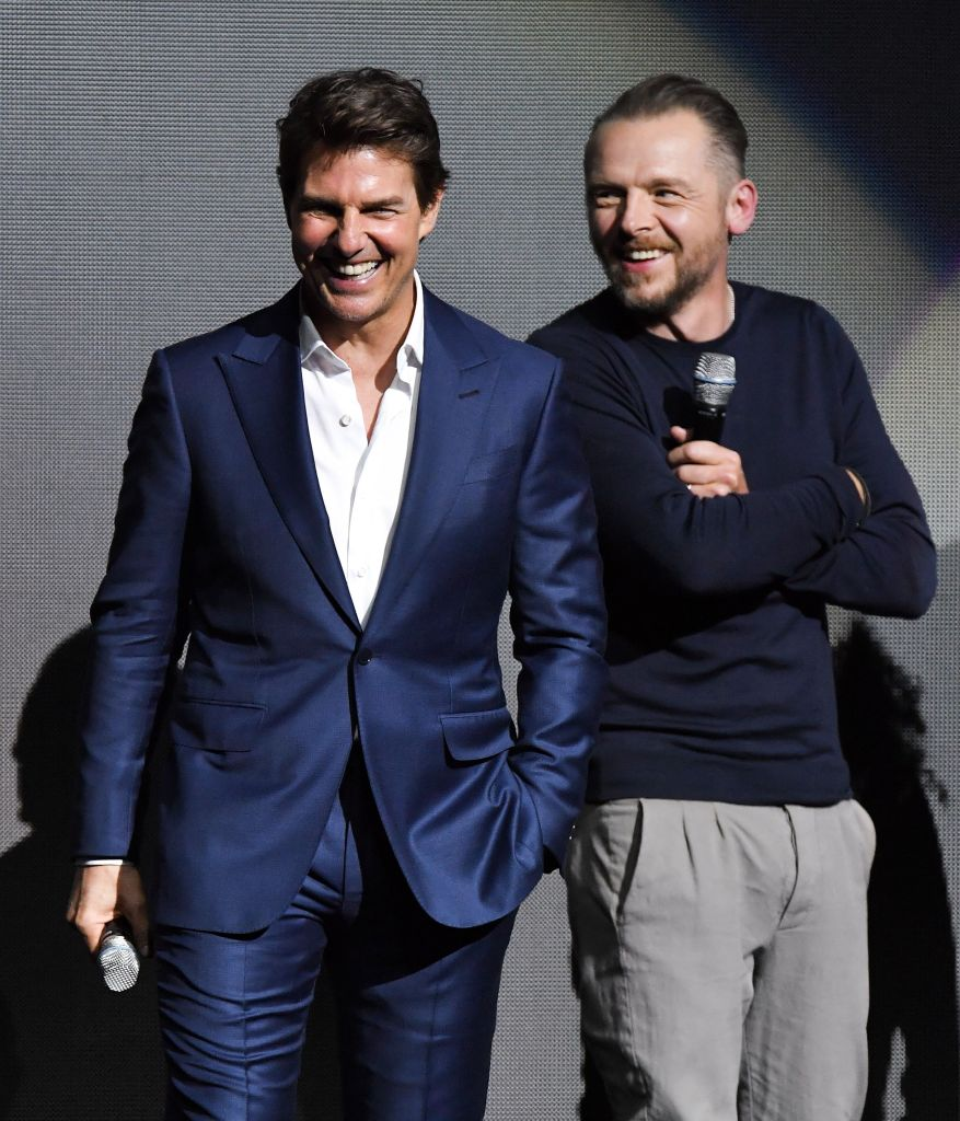 Tom Cruise's Life in London: He 'Loves' the City With Simon Pegg
