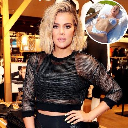 Who Leaked Khloe Kardashian Unedited Bikini Photo