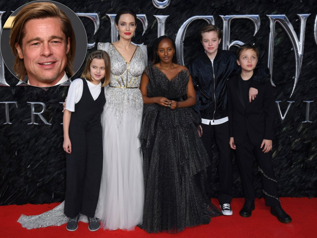 Angelina Jolie Shares Rare Update About Her 6 Kids 'Growing Into Adults' Amid Brad Pitt Divorce