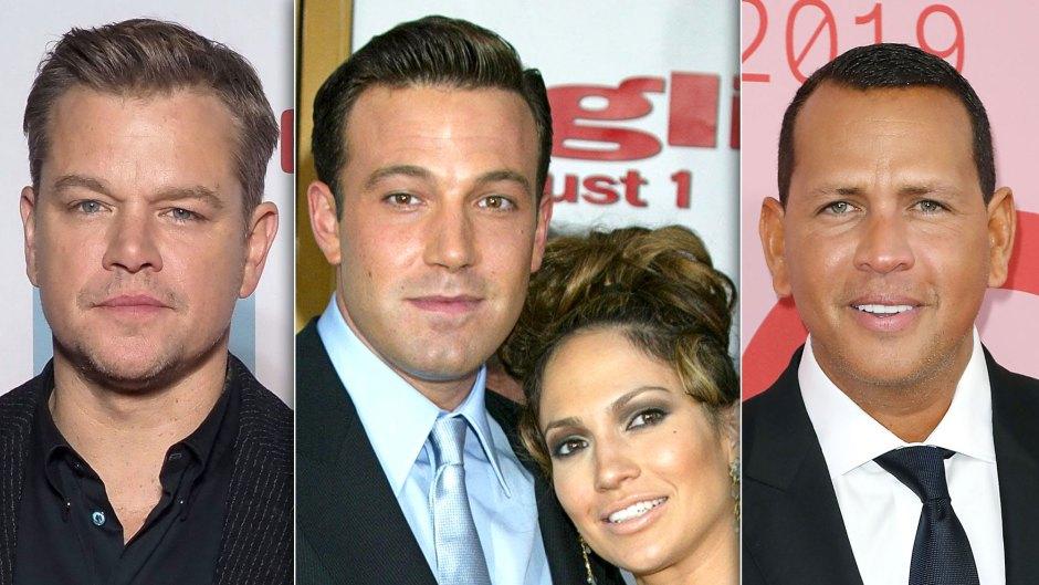 Celebrities React to Jennifer Lopez and Ben Affleck's Reunion: A-Rod, Matt Damon and More