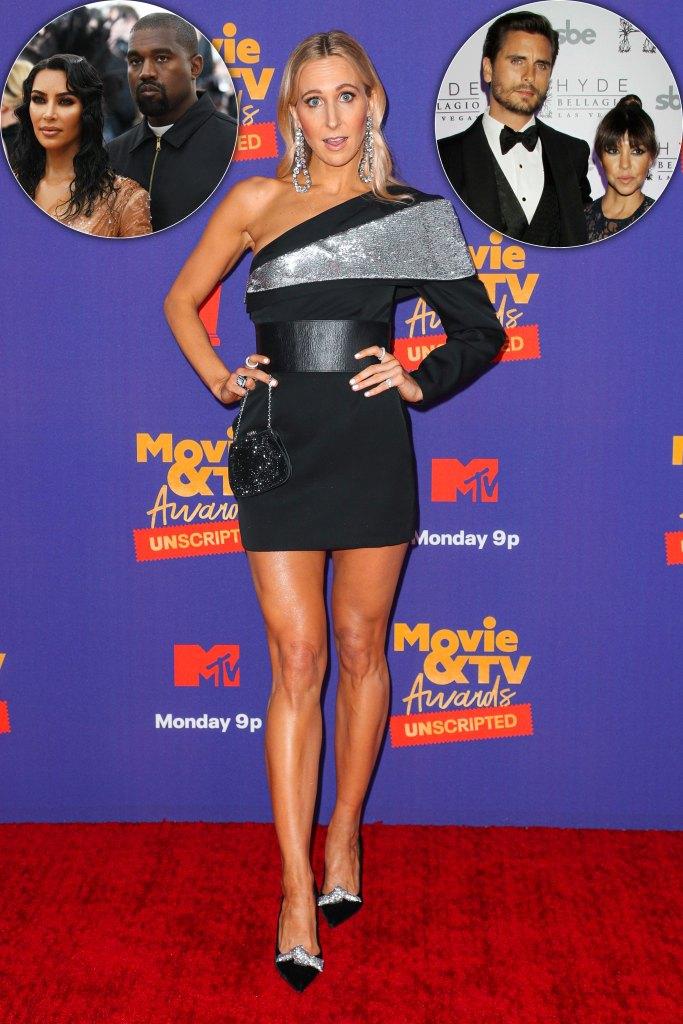 Comedian Nikki Glaser Shades Kimye, Kourtney Kardashian and Scott Disick's Romances at MTV Awards