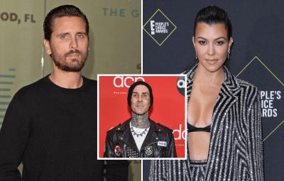 Scott Disick Snubs Ex Kourtney Kardashian on Mother's Day Amid Relationship With boyfriend Travis Barker