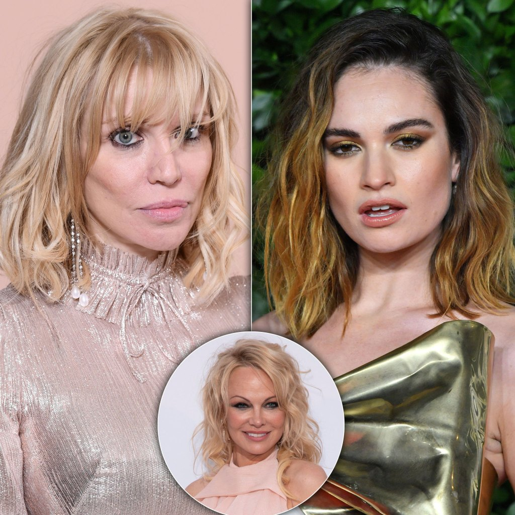 Courtney Love Slams Lily James' Pamela Anderson Portrayal in Hulu Series: 'Whoever the F--k She Is'