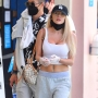 Courtney Stodden Flaunts Toned Abs During a Day Out at Six Flags Following Chrissy Teigen Drama