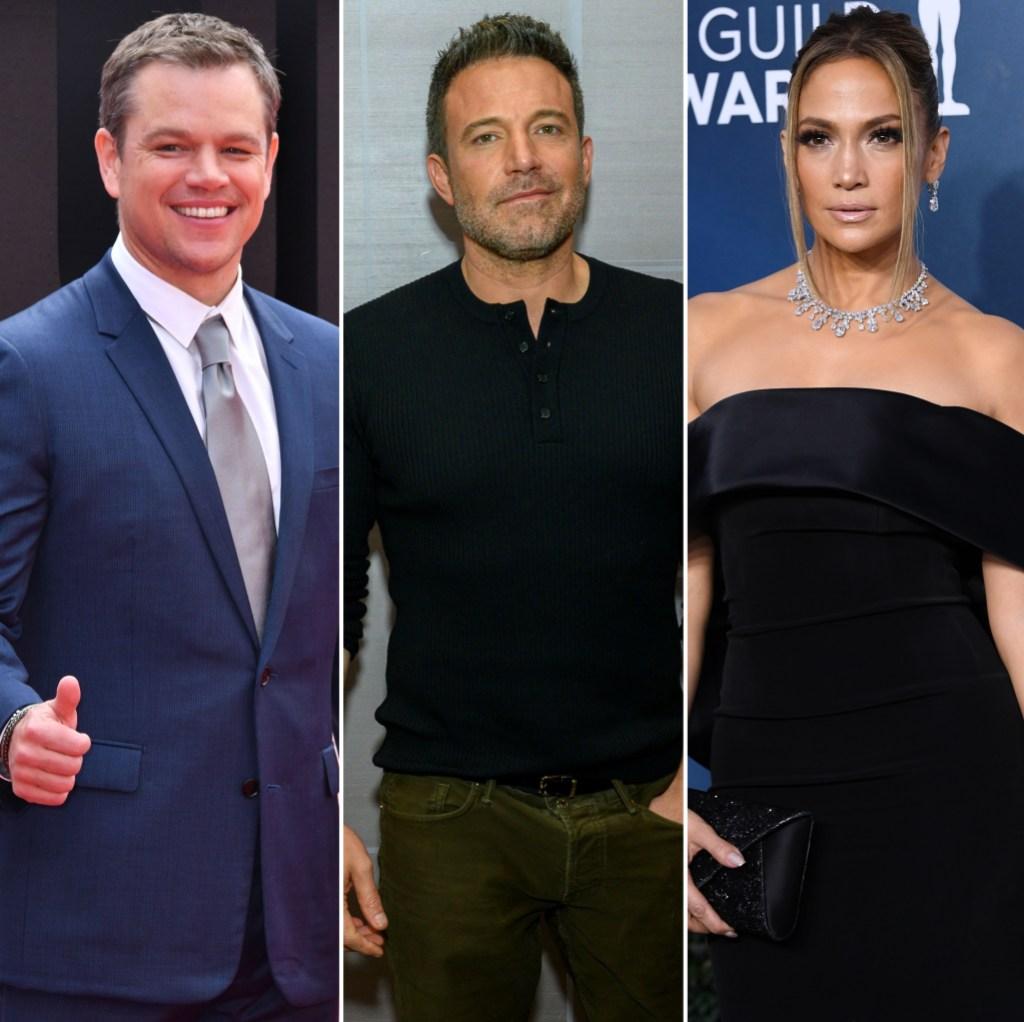 Matt Damon Reacts to Ben Affleck and Jennifer Lopez Romance