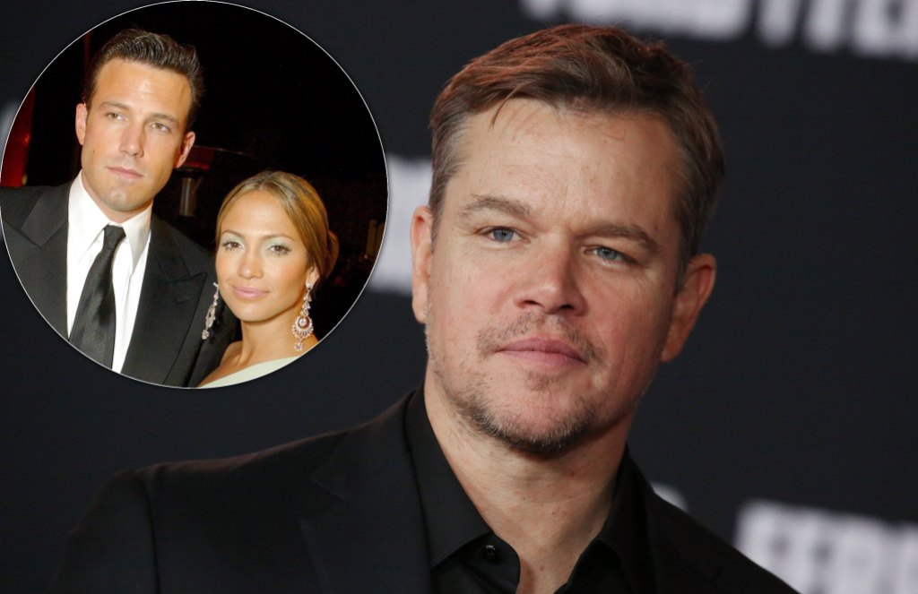 Matt Damon 'Wouldn't Be Surprised' if Ben Affleck and J. Lo Got Engaged Again