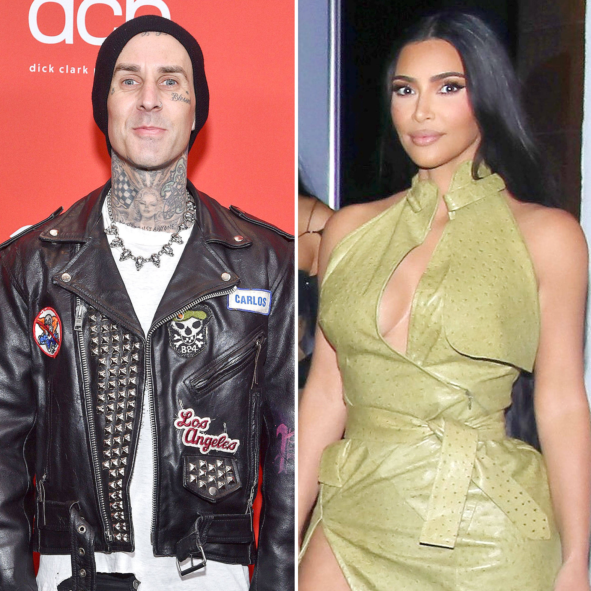 Travis Barker Admitted Secretly Checking Out Kim Kardashian His 2016 Book