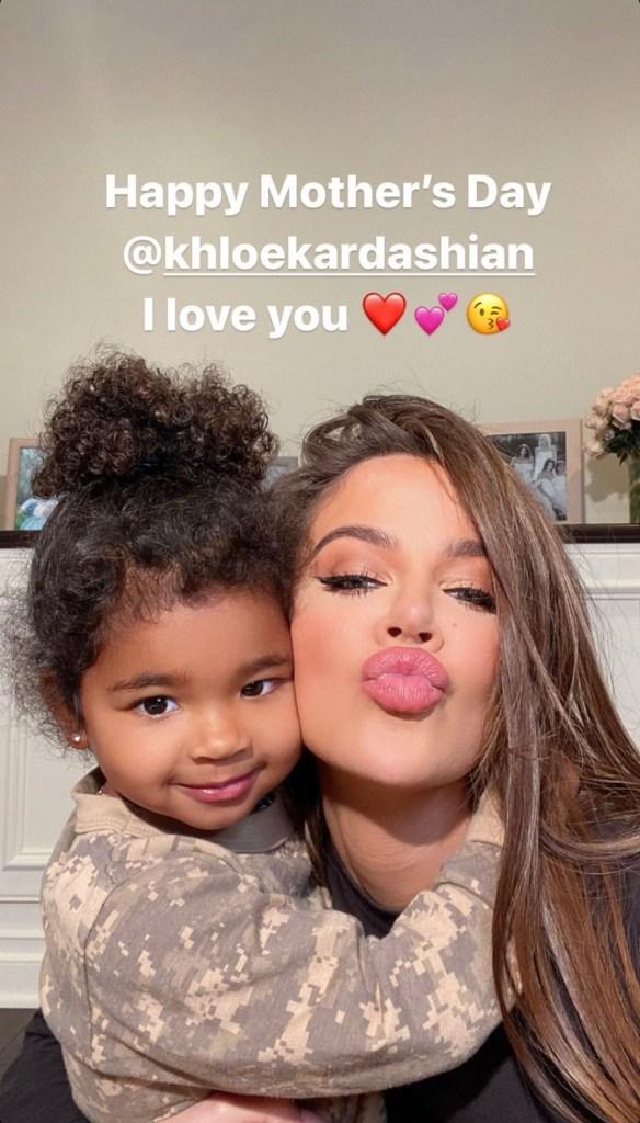 Tristan Thompson Pens Rare Mother's Day Tribute for Khloe Kardashian
